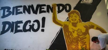 Kist Maradona overgebracht naar presidentieel paleis
