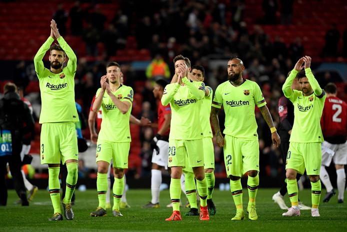 Barcelona is hard op weg om voor het eerst in drie jaar niet uitgeschakeld te worden in de kwartfinale.