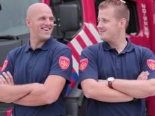 Vloggende vuurvechters: Rick en Richard hebben landelijk de primeur