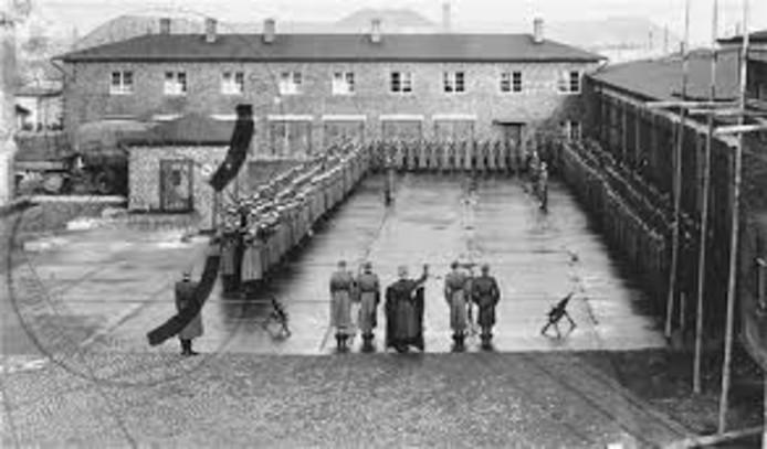 Concentratiekamp Neuengamme vlakbij Hamburg.