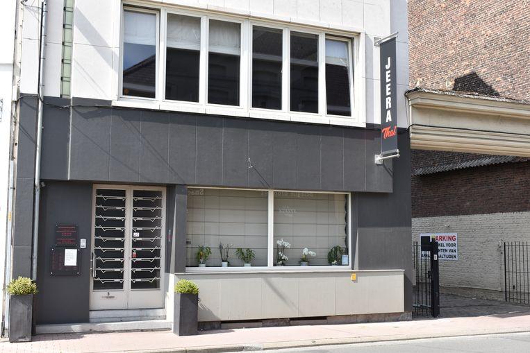 Jeera Thai is gevestigd in de Kleine Nieuwstraat.