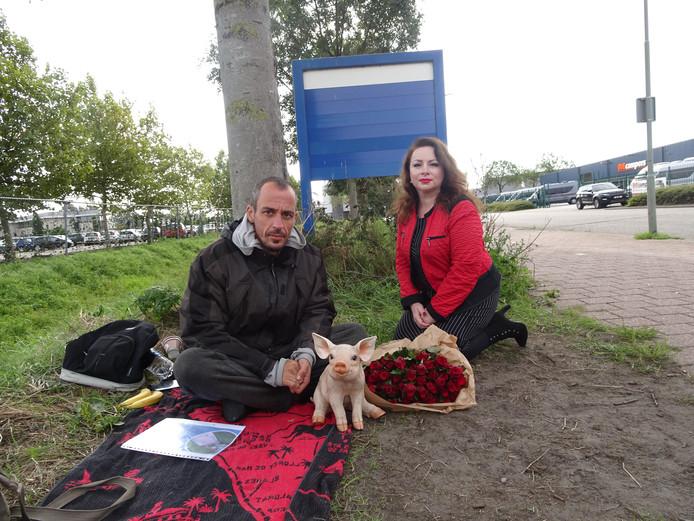 Remko Ehrhardt en Akina Werle