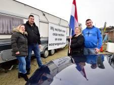 Bewoners woonwagenwoning bij de Dreef in Park Triangel kunnen terug naar een wagen