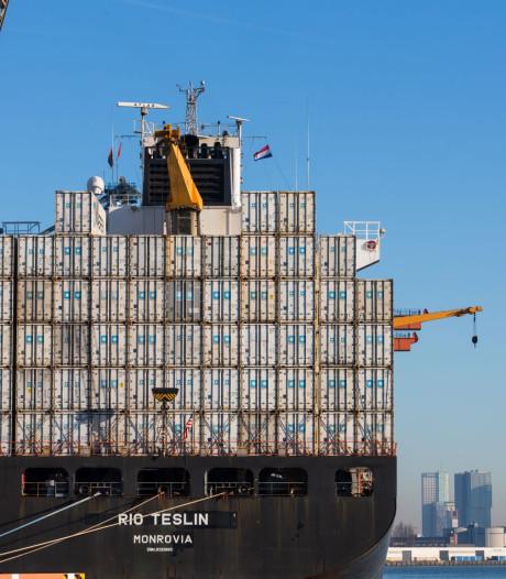 Rotterdamse haven begint het jaar met recordoverslag dankzij brexit