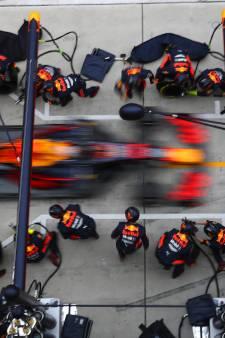 Vier nieuwe banden in 1,88 seconden? Geen probleem voor Red Bull