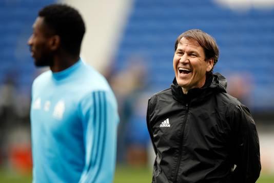 Trainer Rudi García.