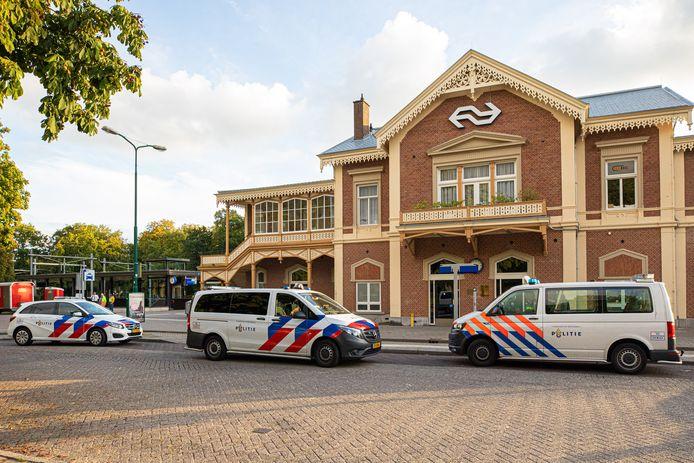 Het station van Baarn.