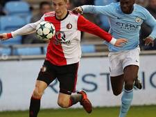Feyenoord doet zichzelf in Youth League tekort in Manchester