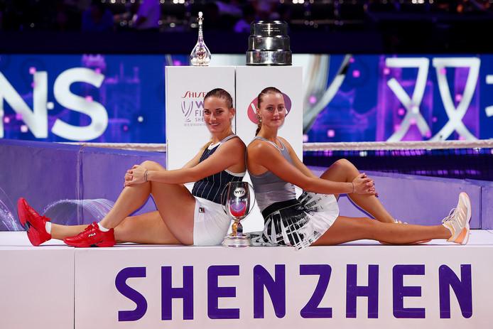 Timea Babos en Kristina Mladenovic.