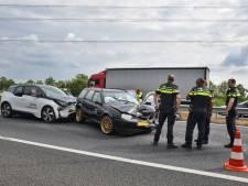 Wéér ongeluk op A58 bij Moergestel:  weg is weer vrij
