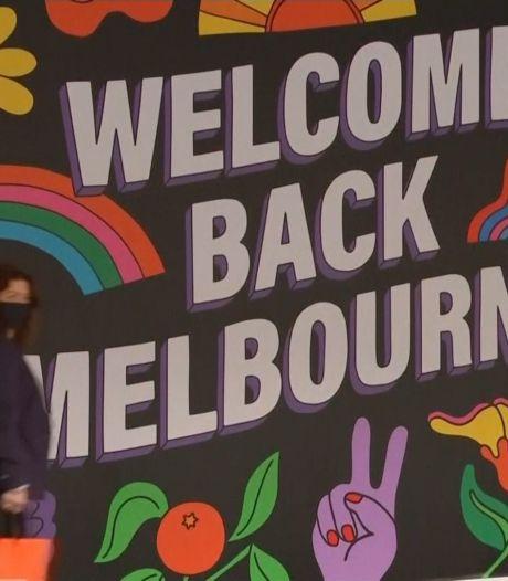 Melbourne viert vrijheid na maandenlange strenge lockdown