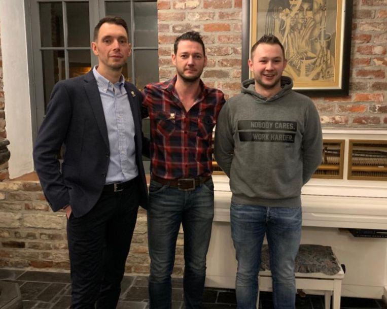Wesley, Kevin en Nick hopen op een mooie toekomst voor N-VA Geetbets.