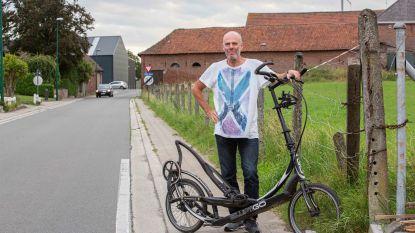 """Geert (53) wil wereldrecord halen voor het goede doel op zijn ElliptiGo: """"24 uur lang rijden, ik mik op 550 kilometer"""""""