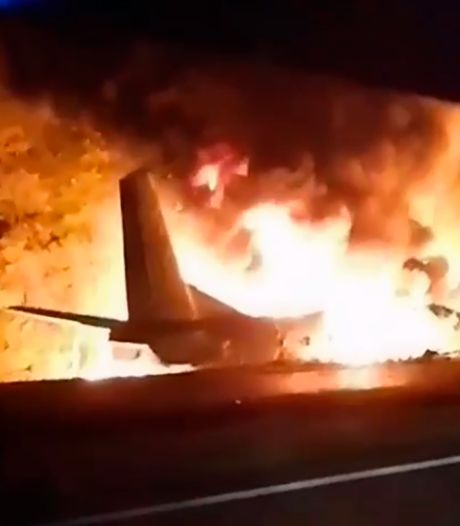 Zeker 25 doden bij crash militair vliegtuig Oekraïne