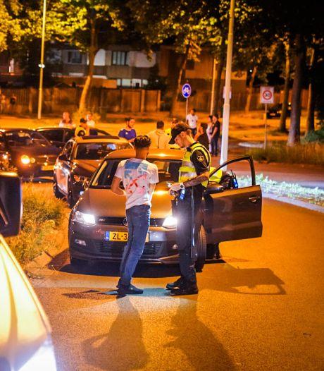 Politiewerk in regio blijft liggen door oproepen om te gaan rellen
