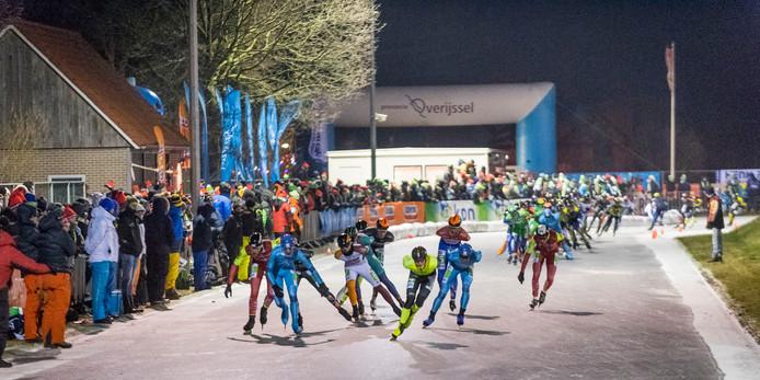 Vorig jaar had Haaksbergen de eer van de eerste marathon op natuurijs, toen op 28 februari 2018.