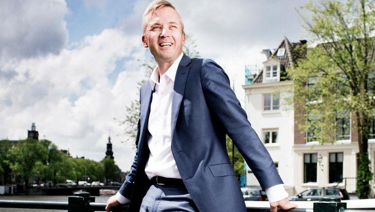 Wethouder Eric van der Burg is voor de derde keer op rij lijsttrekker. Beeld Harmen de Jong