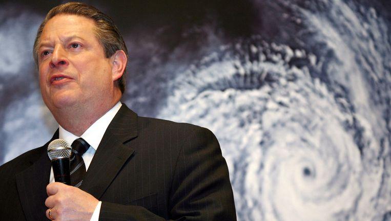 Al Gore stelt dat de VS het begrotingsvraagstuk en het klimaatvraagstuk tegelijkertijd kunnen oplossen met de invoering van een CO2-heffing. Beeld ap