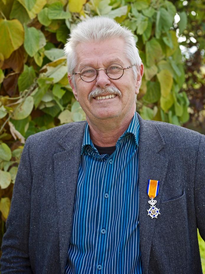 Willem Behr ontving een onderscheiding