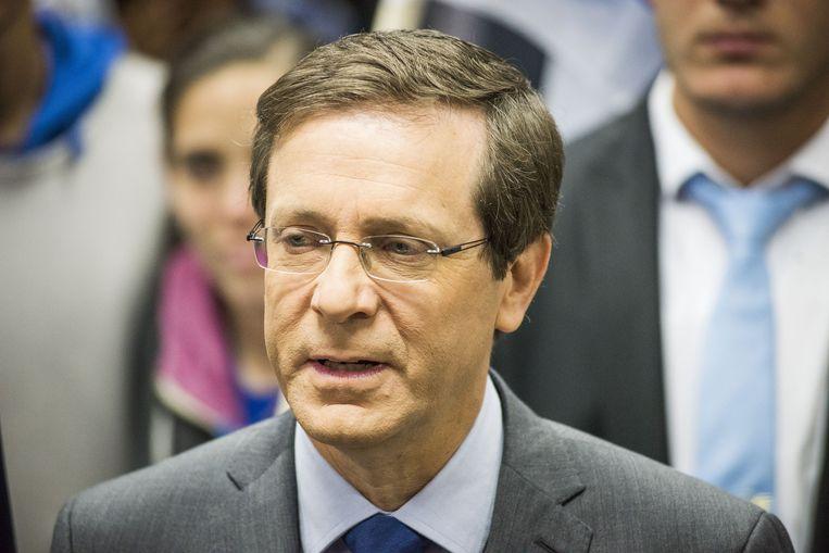 Isaac Hertzog van de Zionist Union partij. Beeld getty