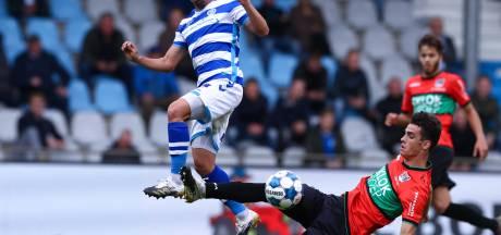 NEC'er Odenthal snoerde critici de mond in duel met NAC, nu wacht Helmond Sport