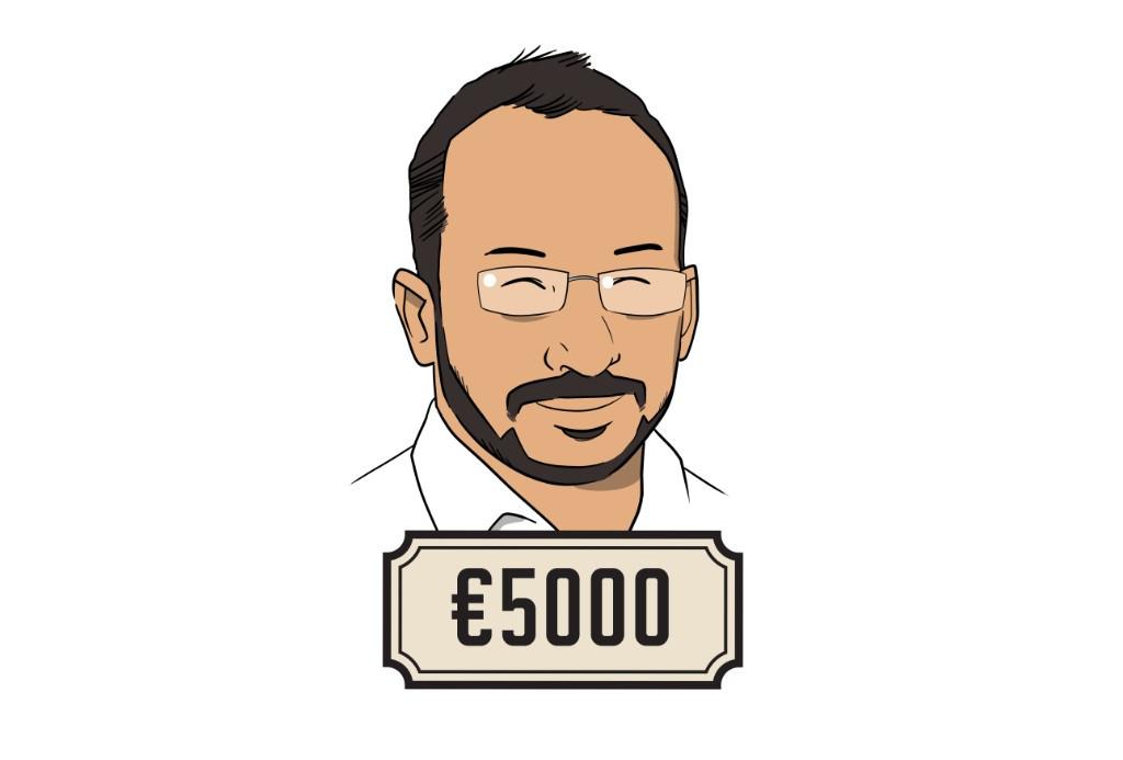Abdullah is business development manager: 'Ik moet heel eerlijk bekennen: ik heb 160 uur aan vrije dagen en mag het helaas niet omzetten in geld.'