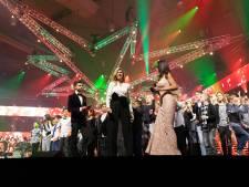 Koningin Máxima eregast bij opnames Kerst Muziekgala in Brabanthallen
