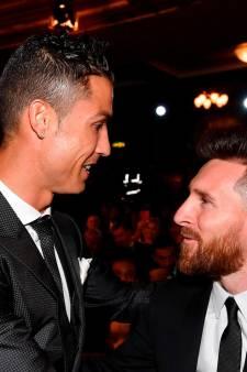 """Cristiano Ronaldo: """"J'admire beaucoup la carrière de Lionel Messi"""""""