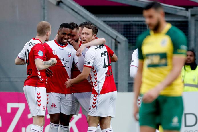 FC Utrecht is blij met Gyrano Kerk.