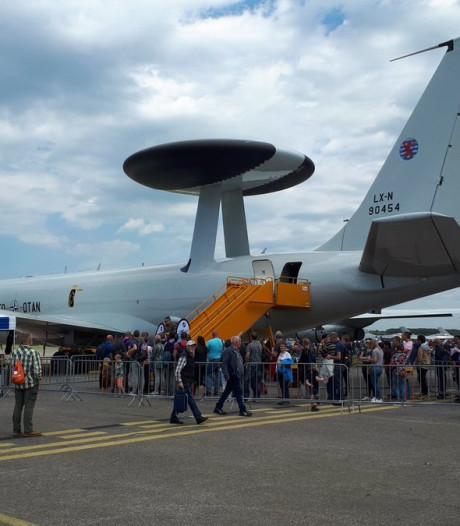 Luchtmachtdagen: in de file staan om de JSF te zien