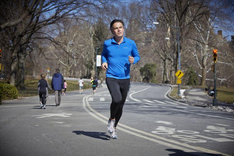 Eurlings, al trainend voor de marathon van New York Beeld anp
