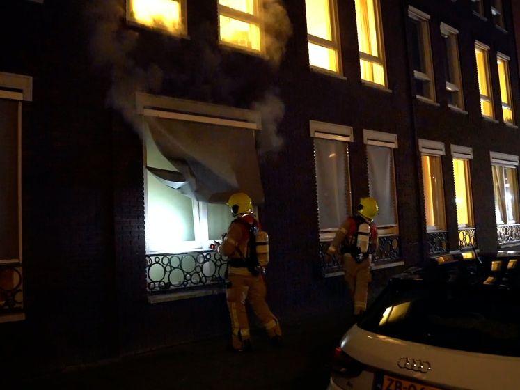 Brand bij ouderenopvang Rotterdam-Zuid; deel bewoners elders opgevangen