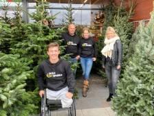 Kerstbomen voor de Olympische droom van Niels Vink uit Helmond