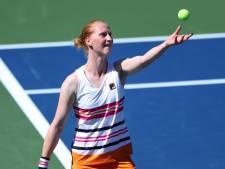 Alison Van Uytvanck contrainte à l'abandon au Luxembourg