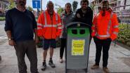 Harelbeke zoekt beste vuilnisbak in strijd tegen zwerfvuil