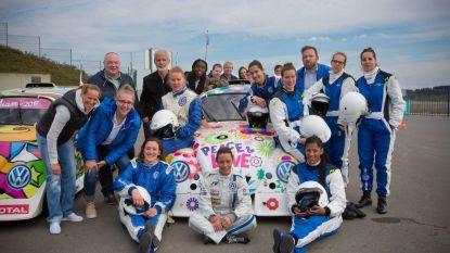 Toppers van Castors Braine racen mee in VW Fun Cup