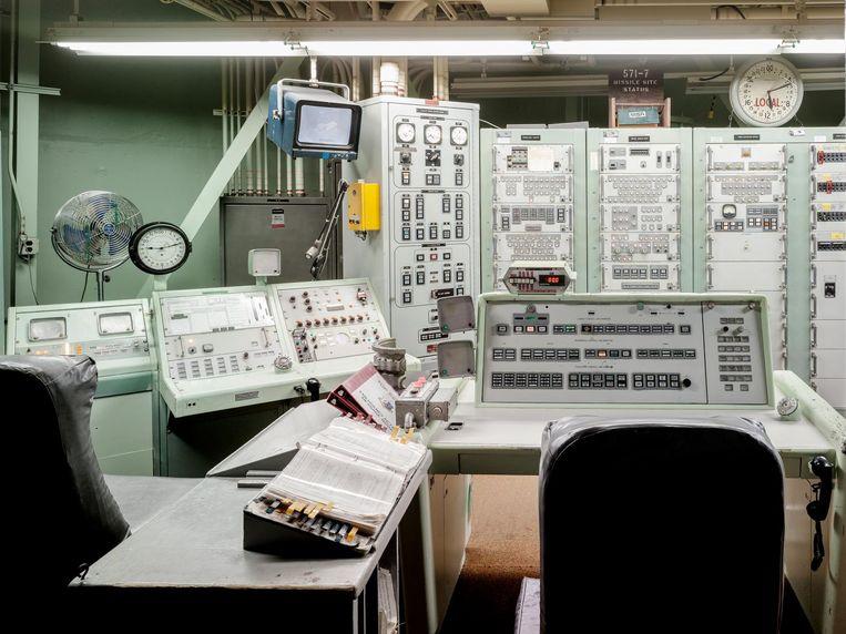 Titan Missile Control Room Beeld Eddo Hartmann
