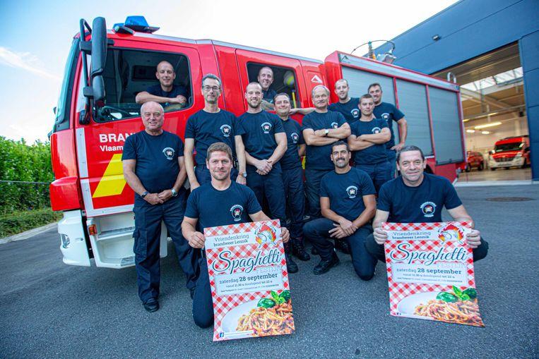 De Vriendenkring brandweer Lennik verwacht iedereen zaterdag op het spaghettifestijn in Trefpunt St-Jozef