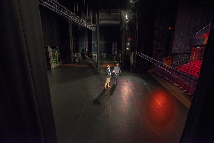 De grote zaal van theater De Lievekamp