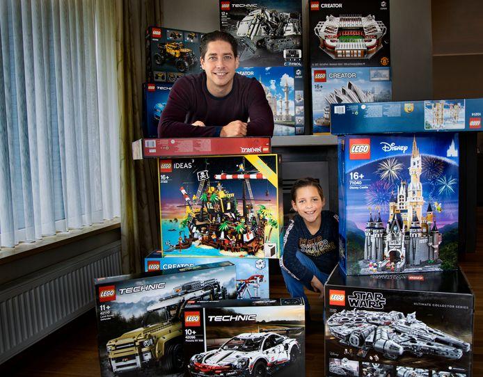 Enrico van Gansewinkel verhuurt Lego.