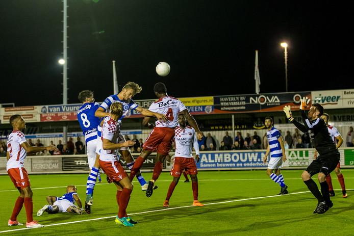 De Graafschap werd vorig seizoen in de eerste ronde van de KNVB-beker uitgeschakeld door Kozakken Boys.