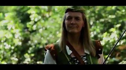 Patricia Waerniers (even) Robin Hood