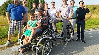 Rotary schenkt rolstoelfiets aan Groenhoef