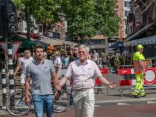 Burgemeester tevreden over terrasbezoek Tilburg: 'Zoals ik het nu zie, gaat het goed'