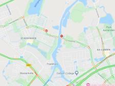 Verkeerschaos in Zwolse wijk Stadshagen na een defecte brug