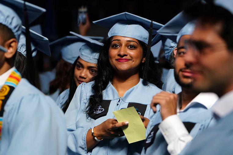 Studenten van Columbia University (foto ter illustratie)