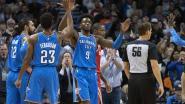 Oklahoma City boekt zevende zege op rij, Curry en co lijden verrassende nederlaag
