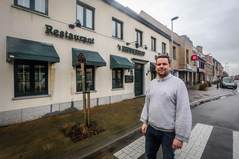 Matthias Saelens aan 't Ridderhof.