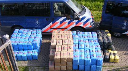 Nederlandse politie ontdekt voor miljoenen euro aan drugs in Nederlands-Limburg