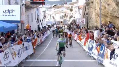 Serrano verrast op steile muur in Ruta del Sol, Teuns opnieuw derde